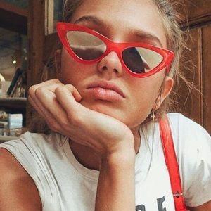 Accessories - Cat Eye Triangle Sunglasses UV Protection Glasses